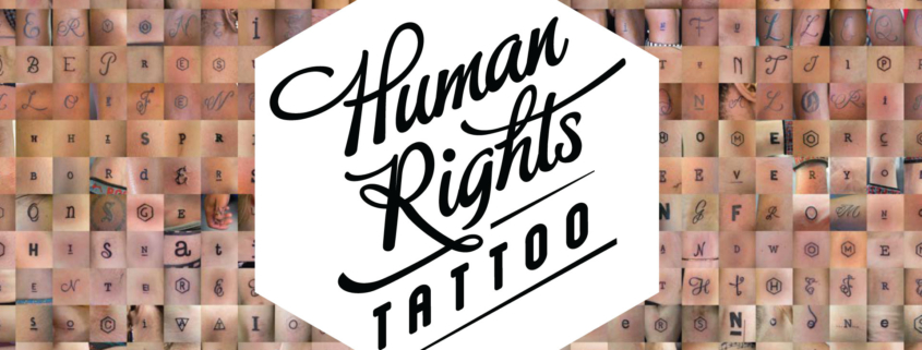 18 Oct Human Rights Tattoo Event Open Design Afrika